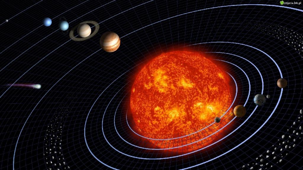 Парад планет (рисунок)