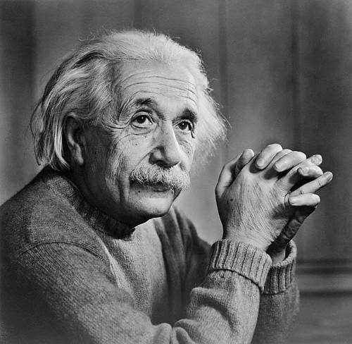 Фотография Альберта Эйнштейна