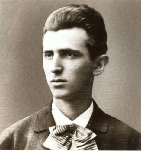 Фотография юного Николы Тесла