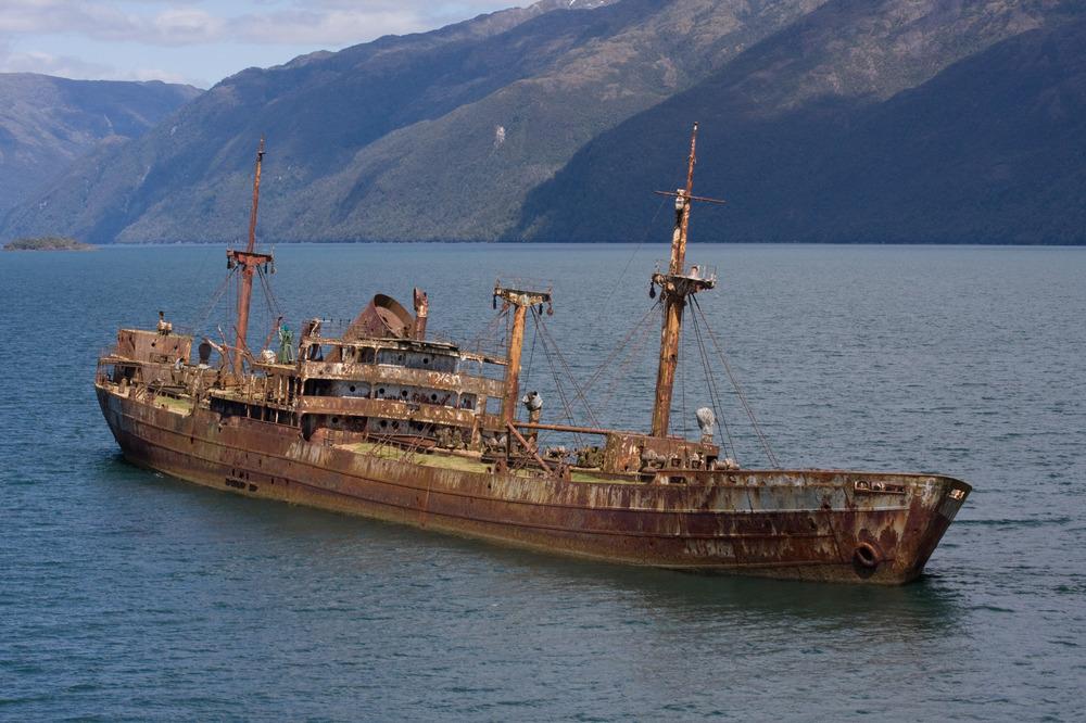Судно SS Cotopaxi обнаруженное у берегов Кубы.