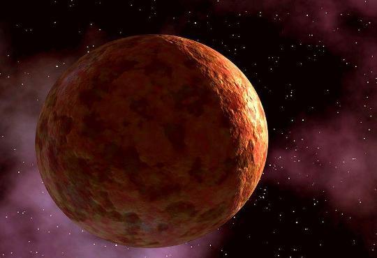Фотография планеты Меркурий в Космосе