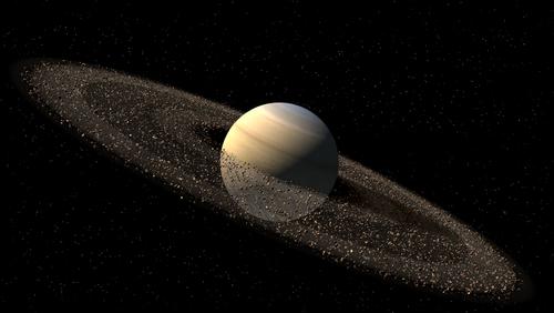 Фото Сатурна в Космосе
