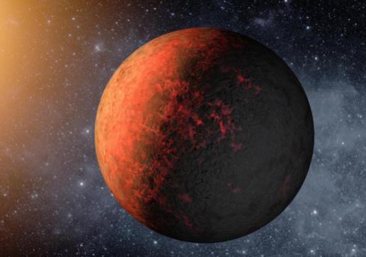 Фотография планеты Марс в Космосе